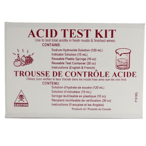 Acid Test Kit For Wine