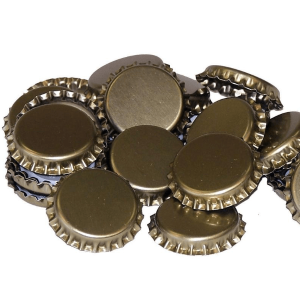 CAPS - Metal Crown Cap Stoppers - 100 Caps