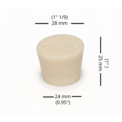 BUNGS - #5.5 Rubber Bung Solid