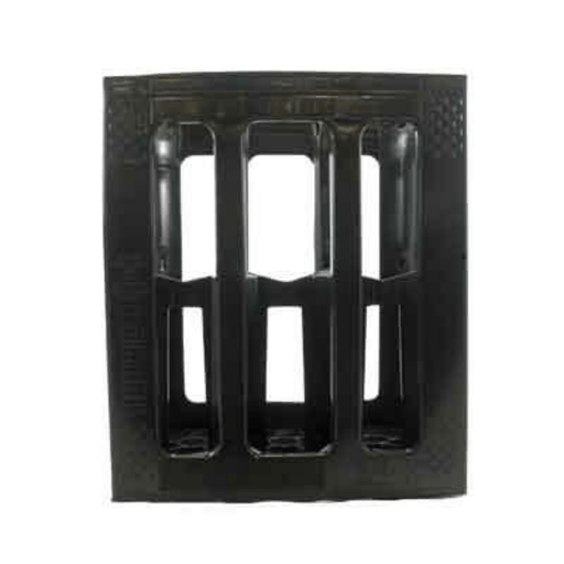 Plastic Wine Crate - 6 Pack