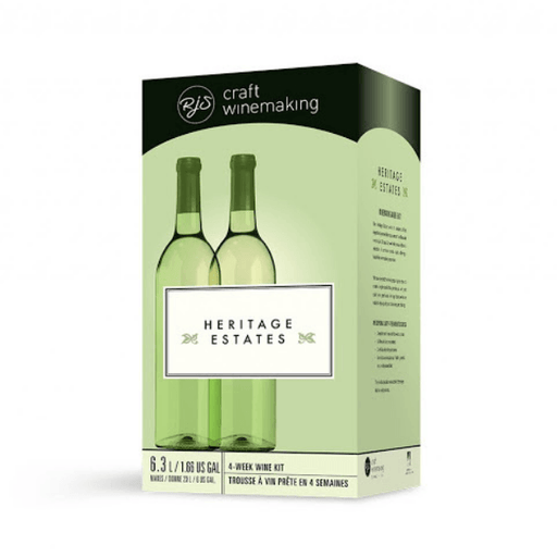 Shiraz - Red Heritage Estates Wine Kit