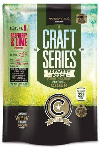 Beer Kits - Mangrove Raspberry & Lime Cider