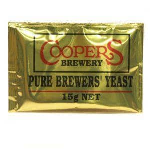 Beer Yeasts - Coopers Brewing Dry Yeast (15g)