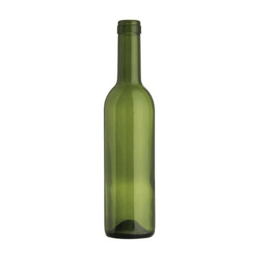 BOTTLES - 375ml Glass Green Bordeaux Bottle - Case Of 24