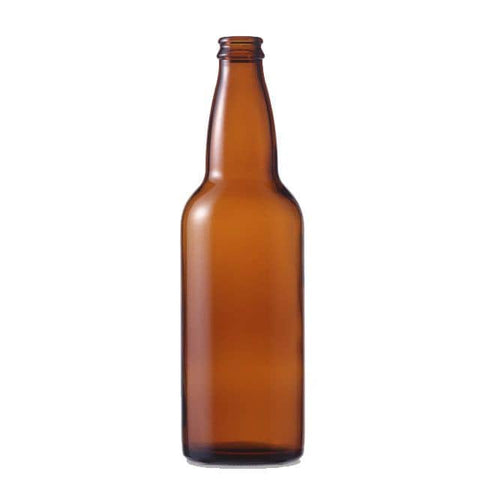 Bottles - 650mL (22 Oz.) Amber Glass Beer Bottles