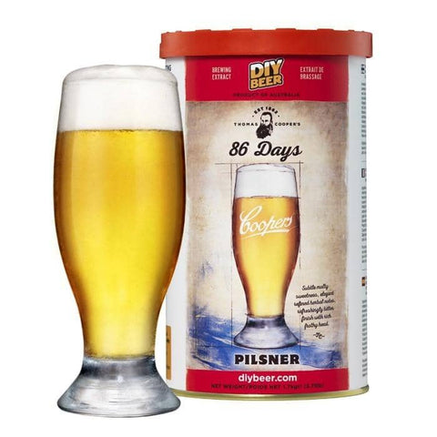 Coopers - Thomas Cooper's 86 Day Pilsner Kit