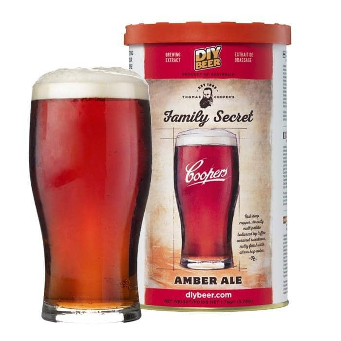 Coopers - Thomas Cooper's Family Secret Amber Ale Kit