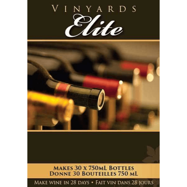 Elite - Merlot - Red Elite Wine Kit