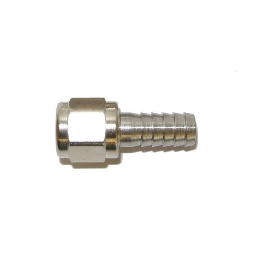 "Kegging - 1/4"" Connector Swivel, Fits Threaded Connectors"
