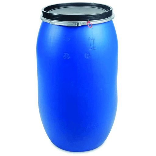 CONTAINERS - Plastic Food Grade Barrel With Clamp Lid (Refurbished)