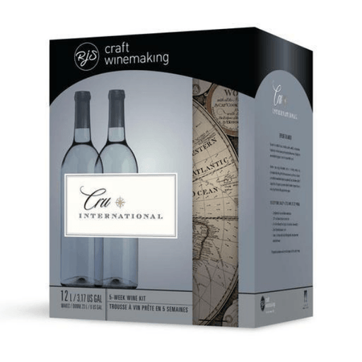 Red Premium Wine Kit - Malbec Syrah Style, Argentina - Red Cru International Wine Kit With Grape Skins