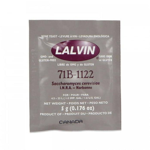 White Wine Yeast - Lalvin 71B-1122