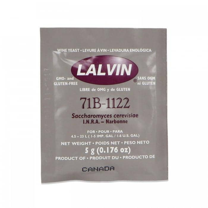 Wine Yeasts - Lalvin 71B-1122 Yeast