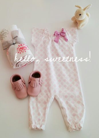 Feather Baby Infant Romper