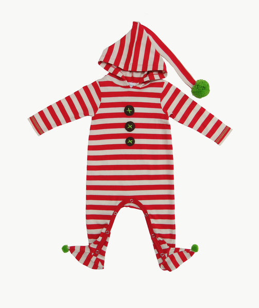 Santa's Little Helper Romper