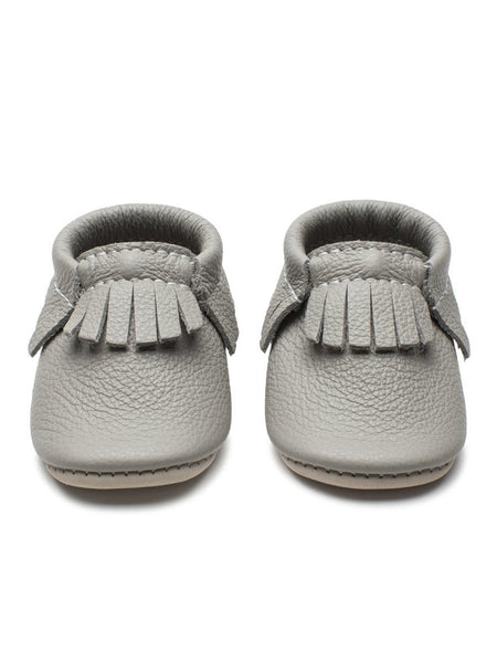 Rhino Gray Infant Mocs