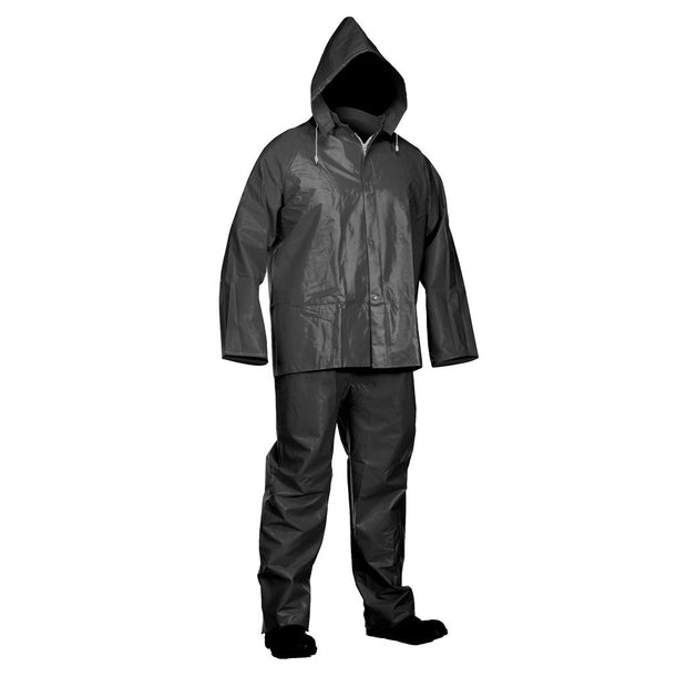 PVC Rainsuit: Jacket & Bib-Pants