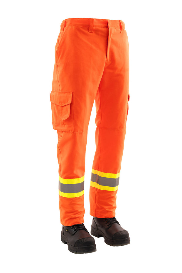 Hi Vis Ripstop Cargo Safety Work Pant