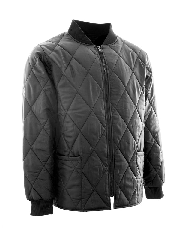 Quilted Insulated Freezer Jacket