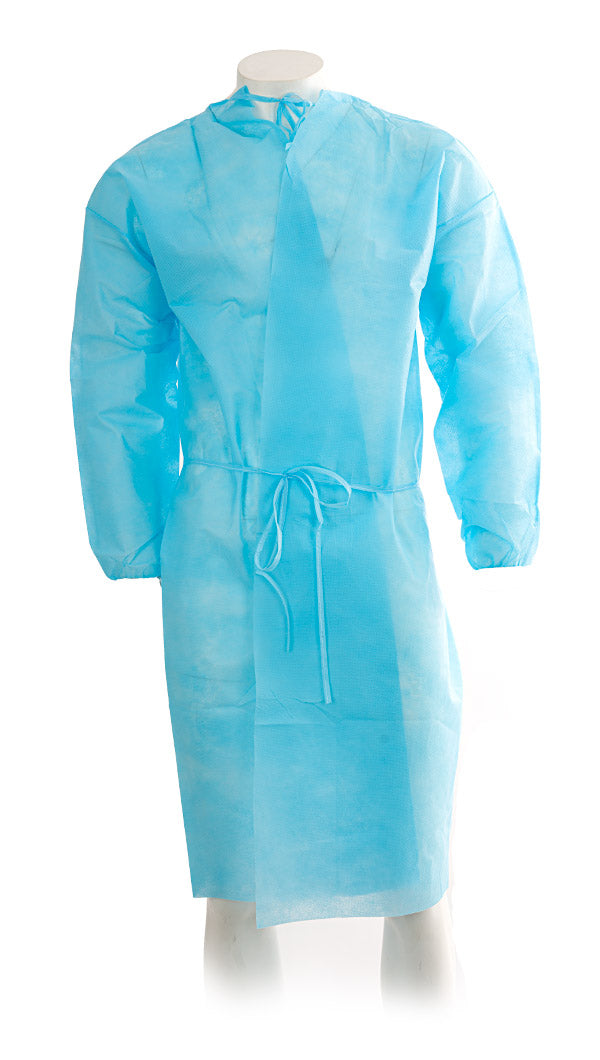 Disposable Isolation Gown - One Size - Case of 25 each
