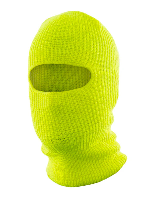 Hi-Vis Knitted Acrylic Balaclava, one opening