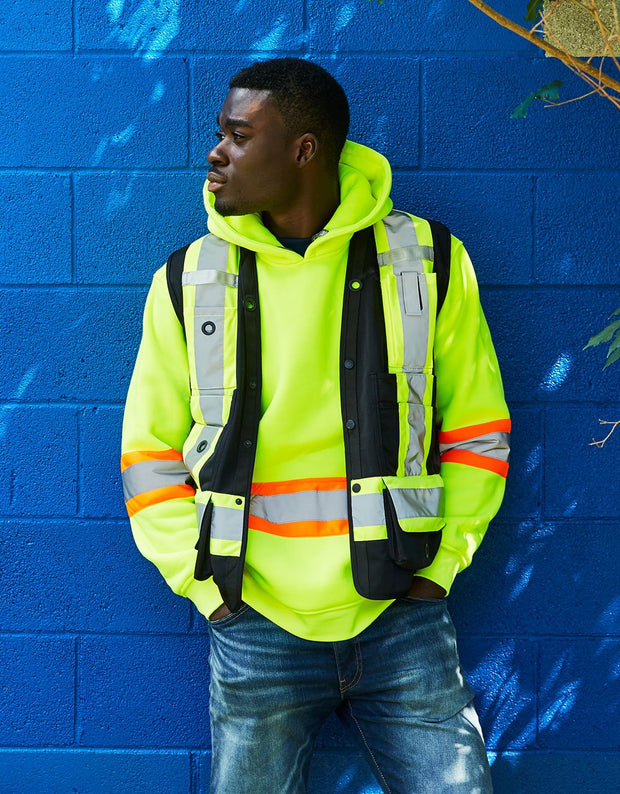 Hi Vis Safety Surveyor's Vest
