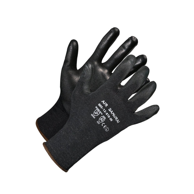 """Air Samurai"" Lightweight Cut Resistant Gloves - Hi Vis Safety"