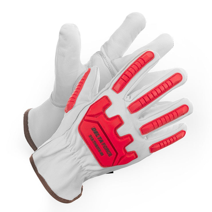 Delta Force Vibration Dampening, Impact Glove - Hi Vis Safety