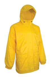 Deluxe Rain Jacket - Hi Vis Safety