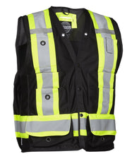 Hi Vis Safety Surveyor's Vest - Hi Vis Safety