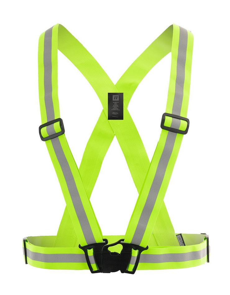 Hi Vis Traffic Safety Sash - Hi Vis Safety