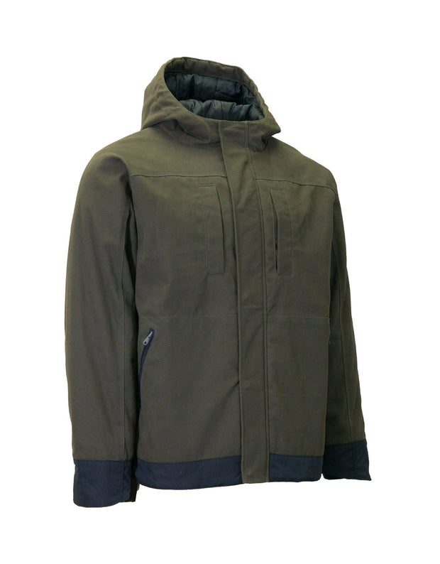 Insulated Canvas Utility Parka - Hi Vis Safety