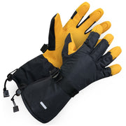 Leather Utility Glove - Hi Vis Safety