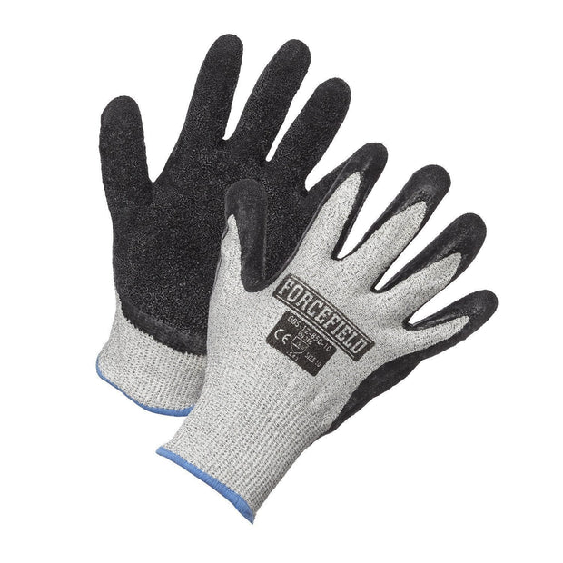 Nitrile Foam Palm Coated Cut Resistant Glove, HPPE Cut Level 3 - Hi Vis Safety