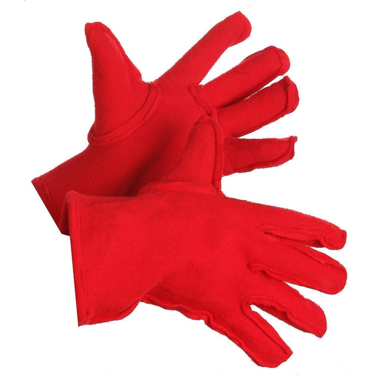 Polar Fleece Winter Glove Liners - Hi Vis Safety