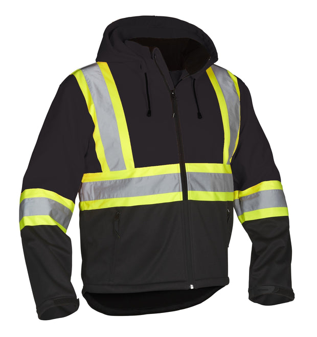 Re-Engineered Hi Vis Safety Softshell - Hi Vis Safety