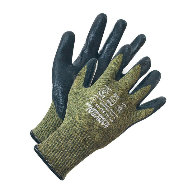 """Samurai Flashfighter"" Cut A4/Arc Flash 2 High Performance Work Glove - Hi Vis Safety"