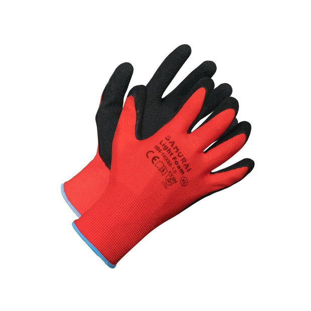 """Samurai Light Foam"" High Dexterity Work Gloves - Hi Vis Safety"
