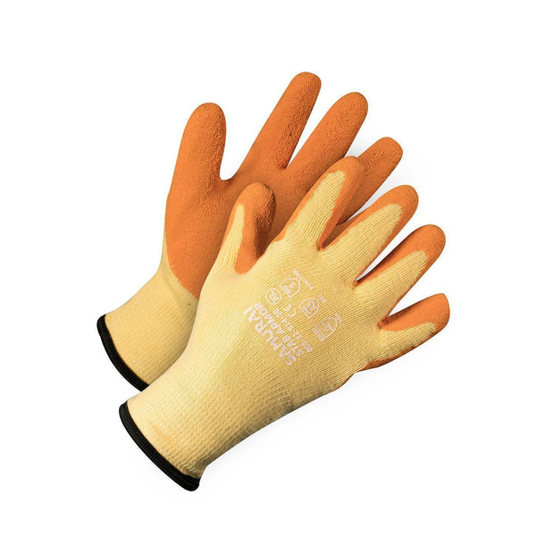 """Samurai Stab Armour"" Puncture Resistant Kevlar Gloves - Hi Vis Safety"