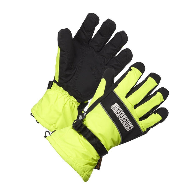 """Slopestyle"" Hi-Vis 200G Thinsulate Lined Waterproof Work Gloves - Hi Vis Safety"