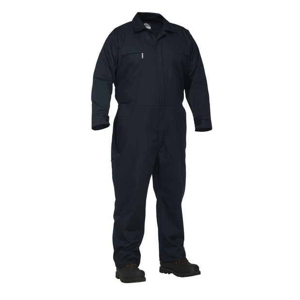 Twill Work Coverall - Hi Vis Safety