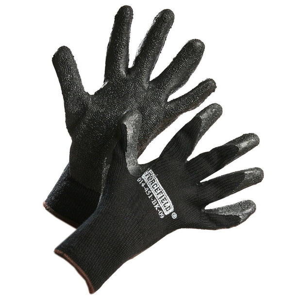 Winter Insulated Nitrile Palm Coated Work Gloves - Hi Vis Safety