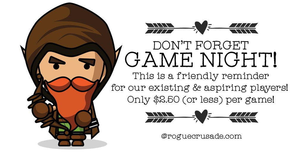 ⚔️ Tween D&D Night With Jon Plays TOMORROW! Get Checked In! ⚔️ #galliafirst #rogueplayers