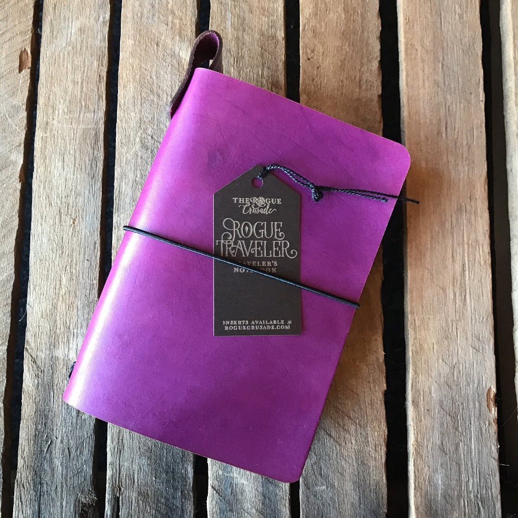 Sorceress Violet Passport Traveler's Notebook - The Rogue Crusade