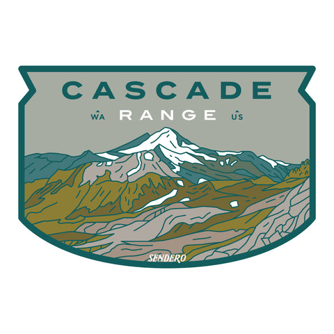 Cascade Range Sticker