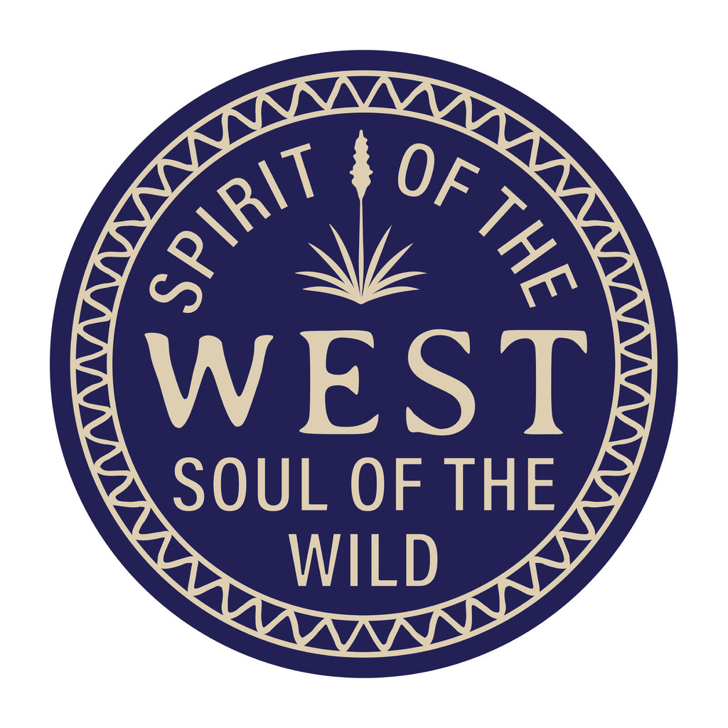 Spirit of the West Sticker