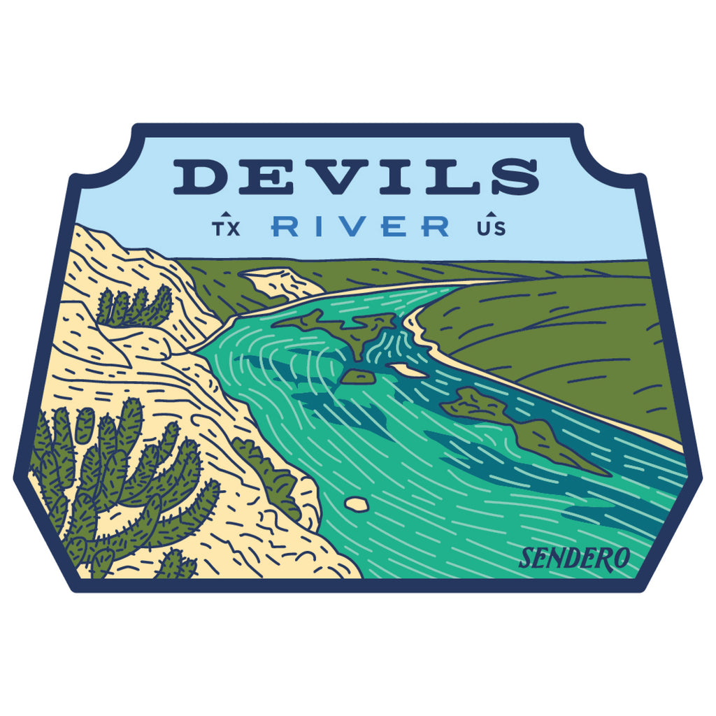 Devils River Sticker