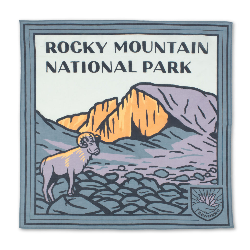Rocky Mountain National Park Bandana