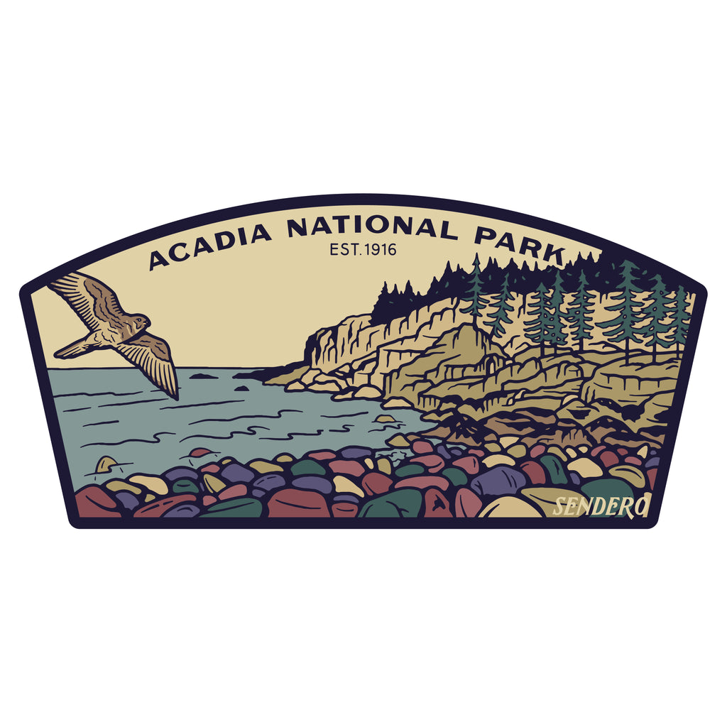 Acadia National Park Sticker