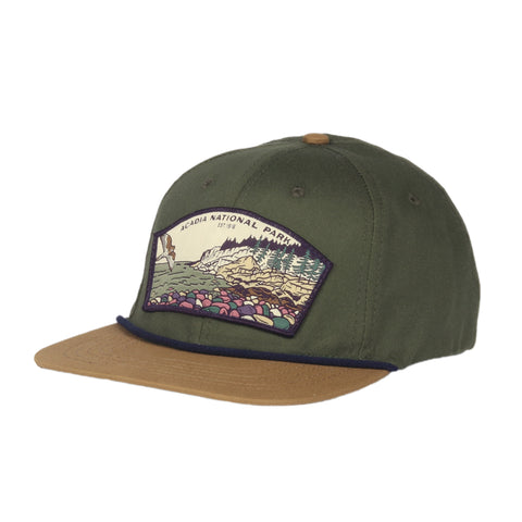 Acadia National Park Hat - Oregano/Wheat
